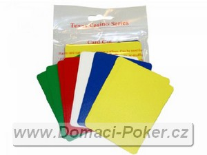 Cut Card Pokersize 10-Pack
