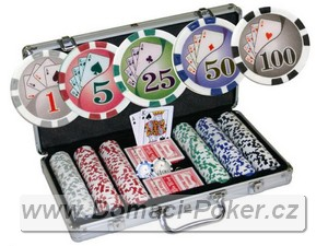 Poker žetony ROYAL FLUSH 300