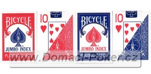 Bicycle jumbo index 2-pack