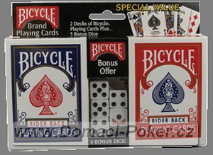 Bicycle Rider Back 2-pack + 5 kostek