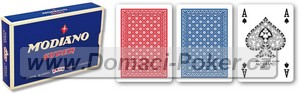 Modiano Super 100% Plast 4x Poker index 2-Pack