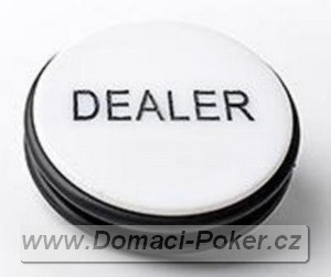 Dealer button XXL